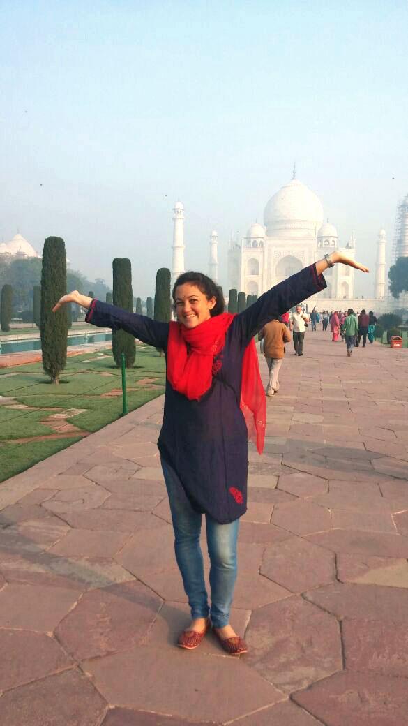 Analia Giannini - Taj Mahal