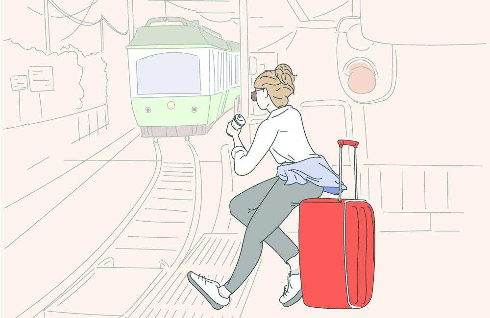 La vida con equipaje de mano