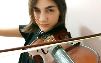 Tocar el violín